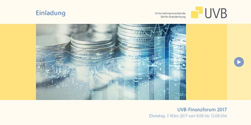 UVB-Finanzforum: Digitale Investitionen finanzieren