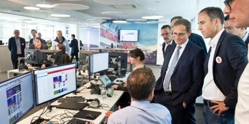 T-Online eröffnet Newsroom in Berlin