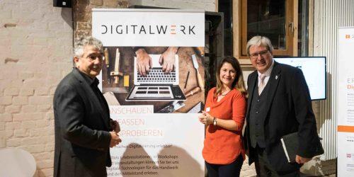 Digitalwerk berät ab Januar Brandenburger Handwerksbetriebe