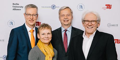 Berlin University Alliance erhält Exzellenzsiegel