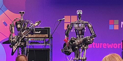 Die Zukunft mit Kollege Roboter