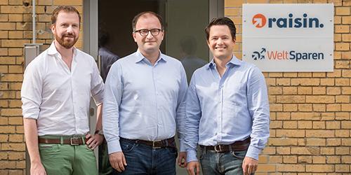 Berliner FinTech Raisin expandiert in die USA