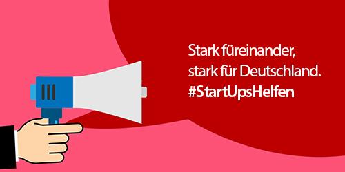 #StartUpsHelfen