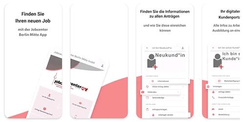 Erstes Berliner Job-Center im Taschenformat