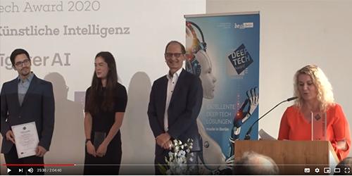 Deep Tech Award 2020: Das sind die Sieger