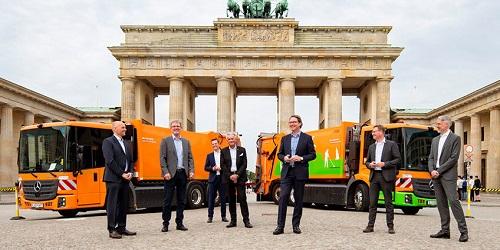 BSR: Müllabfuhr setzt auf Wasserstoff